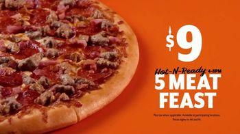 Little Caesars Hot-N-Ready 5 Meat Feast TV Spot, 'Pizza Portal' - Thumbnail 10