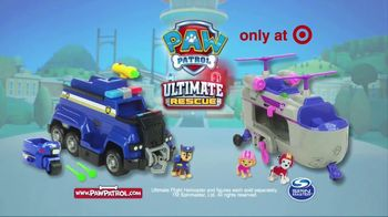 PAW Patrol Ultimate Rescue Vehicles TV Spot, 'Saved the Bear' - Thumbnail 9