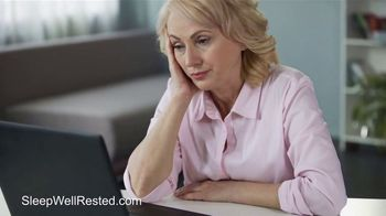 Sleepwellrested.com TV Spot, 'Exhausted' - Thumbnail 3