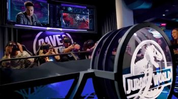 Dave and Buster's TV Spot. 'Jurassic World VR Expedition: Other Games