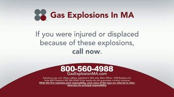 Sokolove Law TV Spot, 'Gas Explosions in MA' - Thumbnail 8
