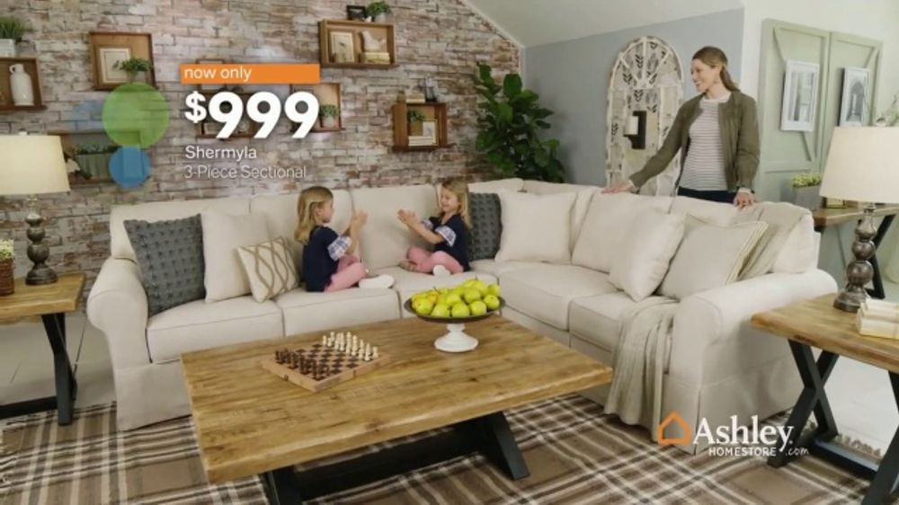 Ashley Homestore Columbus Day Sale Tv Commercial Ends Monday