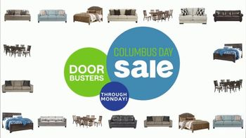 Ashley HomeStore Columbus Day Sale TV Spot, 'Doorbusters'