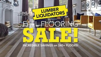 Lumber Liquidators Fall Flooring Sale TV Spot, 'Classic Look' - Thumbnail 3