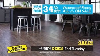 Lumber Liquidators Fall Flooring Sale TV Spot, 'Classic Look' - Thumbnail 6