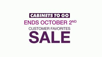 Cabinets To Go Customer Favorites Sale TV Spot, 'Why Cabinets to Go' - Thumbnail 7