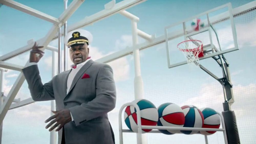 Carnival TV Commercial, 'Never Want to Stop' Featuring Shaquille O'Neal