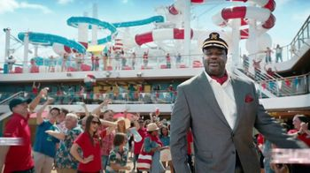 Carnival TV Spot, 'Never Want to Stop' Featuring Shaquille O'Neal - Thumbnail 1