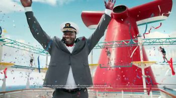 Carnival TV Spot, 'Never Want to Stop' Featuring Shaquille O'Neal - Thumbnail 10