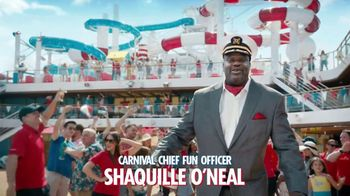 Carnival TV Spot, 'Never Want to Stop' Featuring Shaquille O'Neal - Thumbnail 2