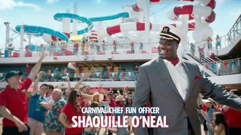 Carnival TV Spot, 'Never Want to Stop' Featuring Shaquille O'Neal - Thumbnail 3