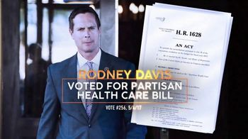 Democratic Congressional Campaign Committee TV Spot, 'Rodney Davis' - Thumbnail 4