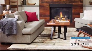 Scandinavian Designs Seating Essentials Sale TV Spot, 'Up to 20% Off'