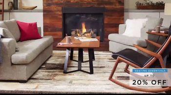 Scandinavian Designs Seating Essentials Sale TV Spot, 'Up to 20% Off' - Thumbnail 5