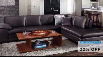 Scandinavian Designs Seating Essentials Sale TV Spot, 'Up to 20% Off' - Thumbnail 6