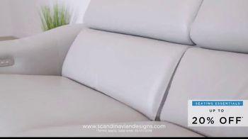 Scandinavian Designs Seating Essentials Sale TV Spot, 'Up to 20% Off' - Thumbnail 7