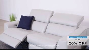 Scandinavian Designs Seating Essentials Sale TV Spot, 'Up to 20% Off' - Thumbnail 8