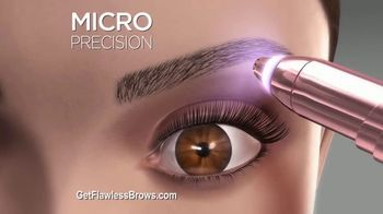 Finishing Touch Flawless Brows TV Spot, 'Sweep Away Unwanted Hair'