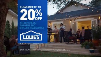 Lowe's Grill Clearance TV Spot, 'The Moment: Grill Out, Don't Miss Out' - Thumbnail 10