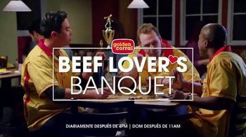 Golden Corral Beef Lover's Banquet TV Spot, 'Trofeo' [Spanish] - 645 commercial airings