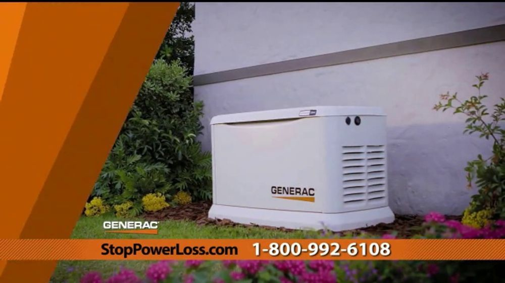 Generac Automatic Home Standby Generator Tv Commercial