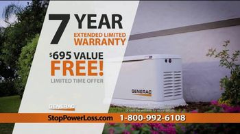 Generac Automatic Home Standby Generator TV Spot, 'Power Stays On: $1,999' - Thumbnail 10