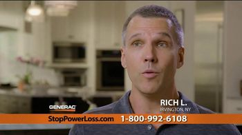 Generac Automatic Home Standby Generator TV Spot, 'Power Stays On: $1,999' - Thumbnail 4