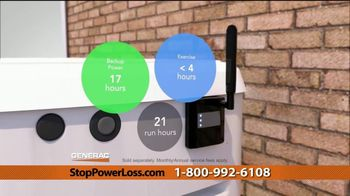 Generac Automatic Home Standby Generator TV Spot, 'Power Stays On: $1,999' - Thumbnail 8