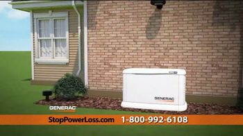 Generac Automatic Home Standby Generator TV Spot, 'Power Stays On: $1,999' - Thumbnail 9