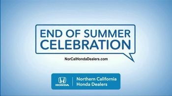Honda End of Summer Celebration TV Spot, 'End Your Summer in Style' [T2] - Thumbnail 7