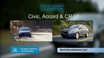 Honda End of Summer Celebration TV Spot, 'End Your Summer in Style' [T2] - Thumbnail 4