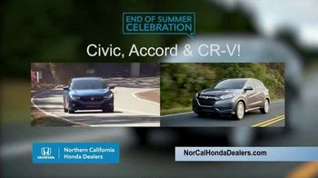 Honda End of Summer Celebration TV Spot, 'End Your Summer in Style' [T2] - Thumbnail 5