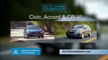 Honda End of Summer Celebration TV Spot, 'End Your Summer in Style' [T2] - Thumbnail 6