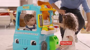 Fisher Price Laugh & Learn Food Truck TV Spot, 'Tiny Chefs' - Thumbnail 6