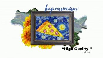 Little Caesars Pizza TV Spot, 'TBS: Art Through the Ages' - Thumbnail 6