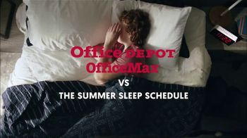 Office Depot TV Spot, 'Summer Sleep Schedule: Backpacks' - Thumbnail 2