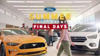 Ford Summer Sales Event TV Spot, 'Final Days' Song by American Authors [T2] - 462 commercial airings