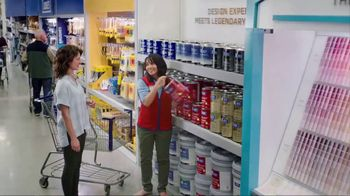 Lowe's Labor Day Savings TV Spot, 'The Moment Your Paint Game Changed' - Thumbnail 1