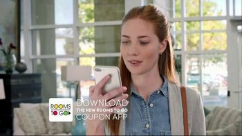 Rooms to Go Labor Day Sale TV Spot, 'Coupon App' - Thumbnail 3