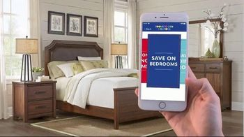 Rooms to Go Labor Day Sale TV Spot, 'Coupon App' - Thumbnail 7