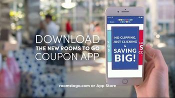 Rooms to Go Labor Day Sale TV Spot, 'Coupon App' - Thumbnail 9