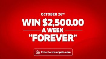 Publishers Clearing House TV Spot, '$2,500 a Week Forever: Never Worry' - Thumbnail 10