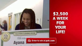 Publishers Clearing House TV Spot, '$2,500 a Week Forever: Never Worry' - Thumbnail 5