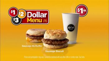 McDonald's $1 $2 $3 Dollar Menu TV Spot, 'Nice: McCafé' - Thumbnail 8