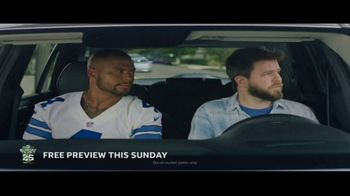 DIRECTV NFL Sunday Ticket Max TV Spot, 'Peyton's Window' Feat. Dak Prescott