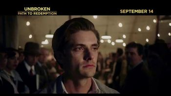 Unbroken: Path to Redemption - 1066 commercial airings