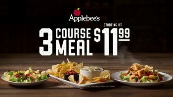 Applebee's 3 Course Meal TV Spot, 'Hungry Eyes' Song by Eric Carmen - Thumbnail 10