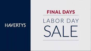 Havertys Labor Day Sale TV Spot, 'Final Days' - Thumbnail 5
