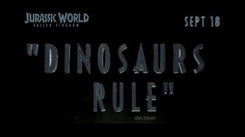 Jurassic World: Fallen Kingdom Home Entertainment TV Spot - Thumbnail 6
