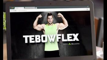 Regions Bank TV Spot, 'Tebowflex' Featuring Tim Tebow - Thumbnail 10